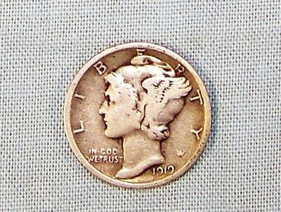 1919 P  Philadelphia Mint Silver Mercury Head Dime    *99802