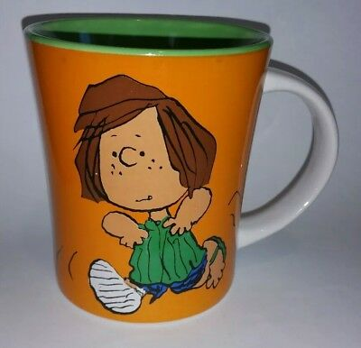 Peanuts Peppermint Patty It's Not How You Start, It's How you Finish Running Mug