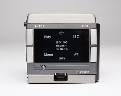 Phase One P30 Digital Back Hasselblad H Mount HC 101 P30+ Medium Format V Leaf