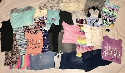 Huge Lot of Girls Fall Winter Clothes Size 14 16 XL XXL Old Navy SO Justice