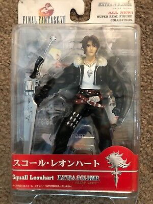 Never Been open Final Fantasy 8 action figure Squall, FF8, New In Box.