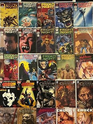 Horror Comics Huge Lot 25 Comic Book Collection Set Run Books Box 1