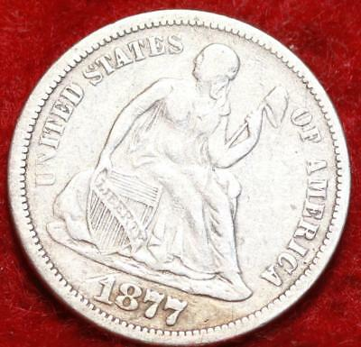 1877-S San Francisco Mint Seated Liberty Dime