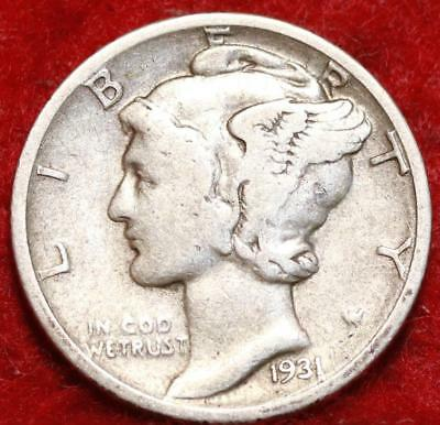 1931-D Denver Mint Silver Mercury Dime