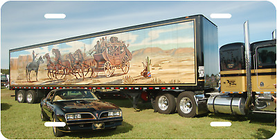 Smokey And The Bandit Novelty License Plate