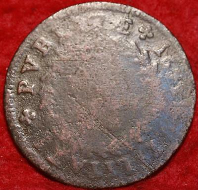 1693 Portugal 10 Reis Foreign Coin