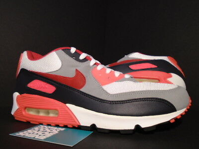 Nike Air Max 90 Ex Id Carson Palmer Bengals White Red Infrared Og 321763-161 11