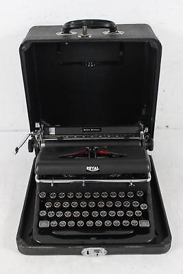 Rare Vintage Royal Quiet Deluxe Portable Typewriter