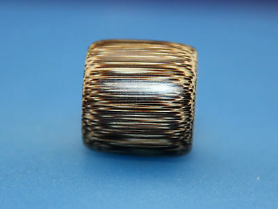 18*18 mm Antique Dzi bamboo old Bead from Tibet **Free shipping**