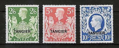 TANGIER MOROCCO AGENCIES 1950 Mint NH Set of 3 Stamps SG #286-288 VF