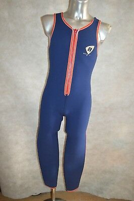 Combinaison Beuchat Sud Taille 2/s/m 4/5 Mm Wetsuit Plongee Chasse Marine Surf