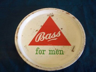 Metat Bass Beer Tray 12 inches across Brewery Advertising Tin Plate Original