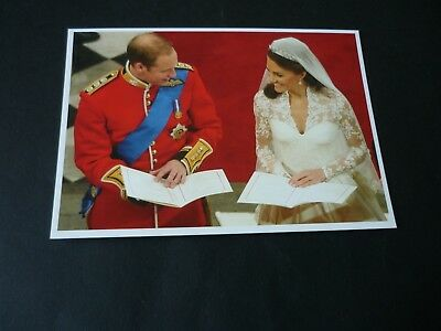 Prince William and Miss Kate Middleton Wedding postcard, 29th April 2011