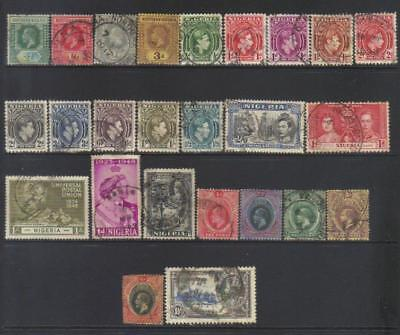 Nigeria 1907-1937 Used Selection Cat £34+