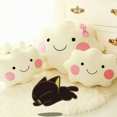 Home Decor Baby Kids angel cloud shaped Supporting Pillows Car seat cushion Cute