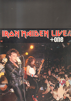 """IRON MAIDEN - live !! + one EP 12"""" made in GREECE"""