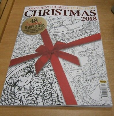 Colouring Heaven Collection magazine #4 2018 Christmas: 48 Festive Designs
