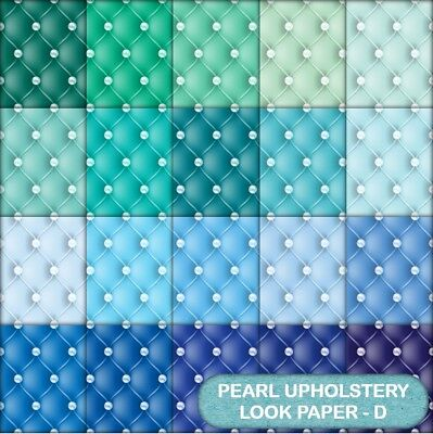 Quilted Pearl Look  Scrapbook Paper - D - 20 A4 Pages