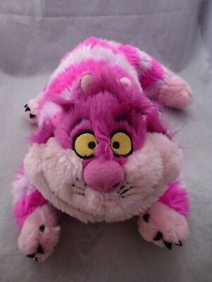 Disney Store Alice in Wonderland Stamped Cheshire Cat Beany Plush Toy