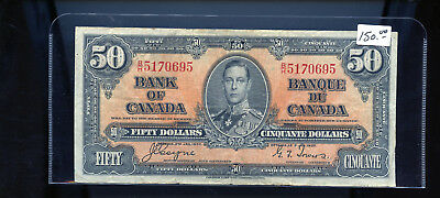 1937 Bank of Canada $50 Coyne Towers  BL5075DW