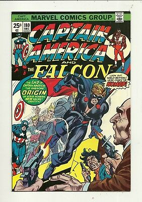 Captain America # 180 Becomes Nomad!!! Very Fine/Near Mint Condition!!!