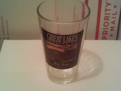 Great Lakes Brewing Co. Cleveland Ohio HOLY MOSES Beer Glass 16 oz