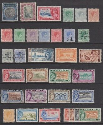 Bahamas nice selection of mint and used fom old stock book