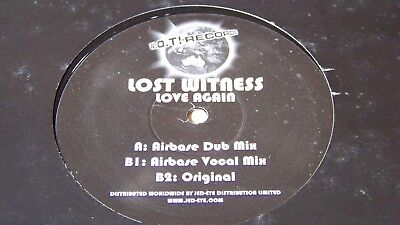"""LOST WITNESS - Love Again  12"""" Maxi   W.O.T! Records WOT 001  UK"""