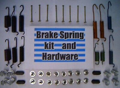 52 brake springs + hardware for Lincoln 1964-1939 -replace worn springs