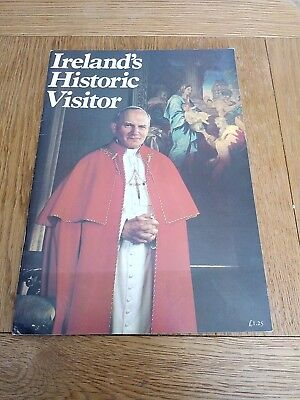 Ireland historic visitor a pictorial record of Pope John Paul II visit 1979