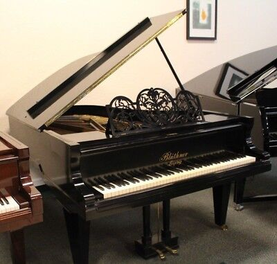 Bluthner ANTIQUE Model VI Grand Piano 1900 6'3 Polished Ebony - PRICE REDUCED!!!