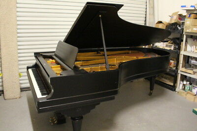 Wissner ANTIQUE Concert Grand Piano USA Made 1896 9' REDUCED FOR IMMEDIATE SALE!