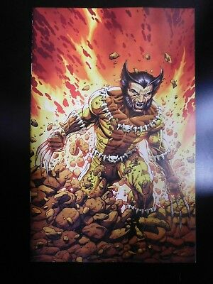 Return of Wolverine #1 1:200 Incentive Virgin Fang Costume Variant by Mcniven!