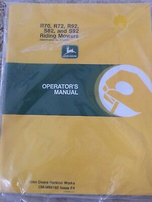 John Deere Riding Mower Operators Manual