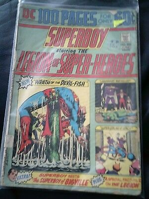 Superboy & The Legion Of Super-Heroes #202 June 1974 (GD+) Bronze Age 100 Pages