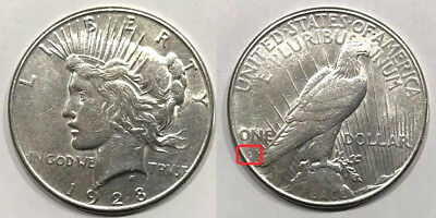 Key Date 1928-S United States Silver Peace Dollar (San Francisco)
