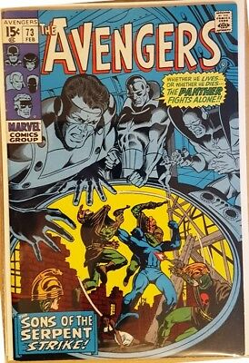 AVENGERS # 73, (1st SERIES / Feb 1970 / FN- / Cents Copy)