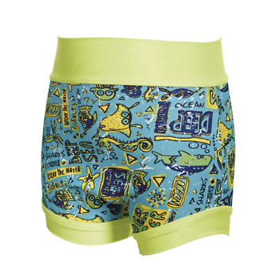Zoggs Boys Child Deep Sea Swimsure Swimming Pool Nappy - 9-12 months