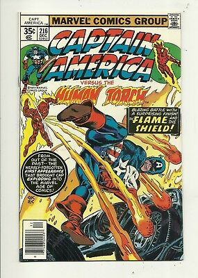Captain America # 216 Very Fine/Near Mint Condition!!! Affordable!!