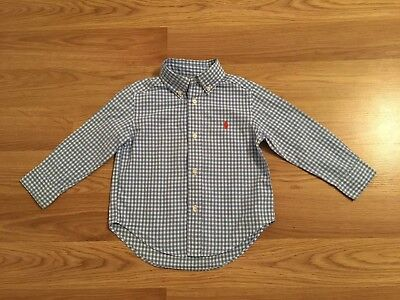Gorgeous  Boys Ralph Lauren Checked Shirt 2 T 1 - 2 Years