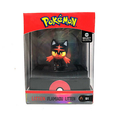 Wicked Cool Toys Pokemon Select Collection Litten Figure