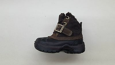 TIMBERLAND BLACK WINTER Brown Leather Chukka Ankle Boots
