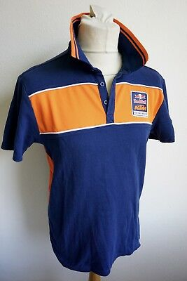 KTM Red Bull Factory Racing Team Poloshirt Polo Hemd blau orange Gr. M EUR 65,--