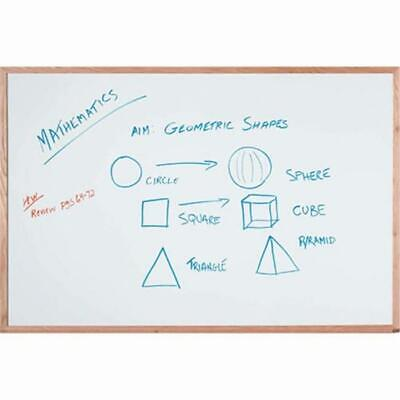 Aarco Products WOC2436NT Display Style White Marker Board