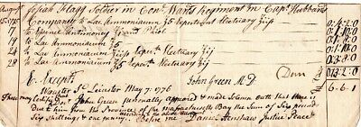 1775, Seige of Boston, Dr. John Green, medical services to soldier, Dan. Henshaw