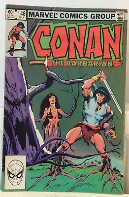 Conan the Barbarian (1970 Marvel) #148...Published July 1983 by Marvel