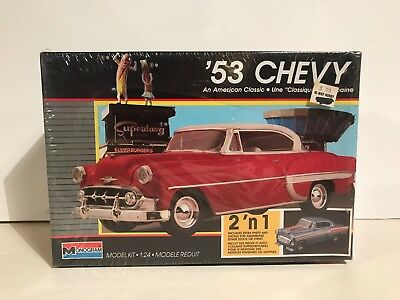 Monogram 1/24 Scale 1953 Chevy Factory Sealed Model Kit