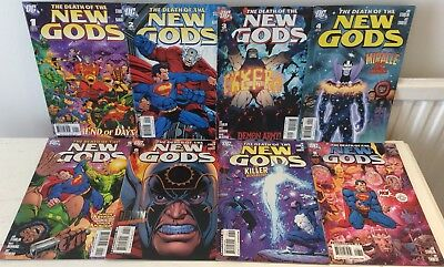 The DEATH of the NEW GODS : COMPLETE 8 ISSUE SERIES by STARLIN & BANNING.DC.2007