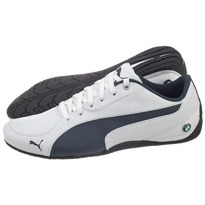 NIB MEN S PUMA 305648 01 Bmw Ms Drift Cat 5 Nm 2 Shoe Puma White ... 78eccce0a