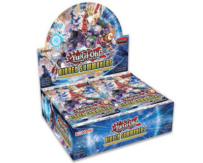 Yu-Gi-Oh Hidden Summoners Booster Box New/Sealed PRE-ORDER